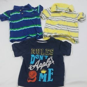 Old Navy Baby Boys Top Bundle Size 12-18 Months